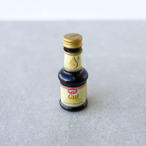 Opskrifter med gul frugtfarve
