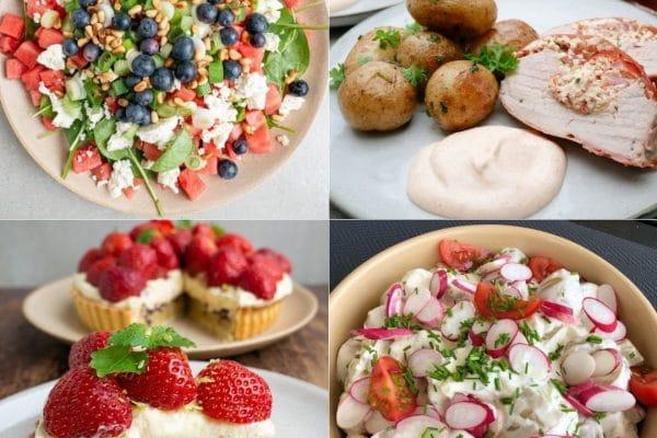 Sommer gæstemad