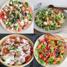 Lækre salater til buffet