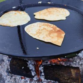 Pandekager på bål