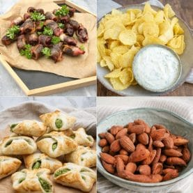 Snacks til fest