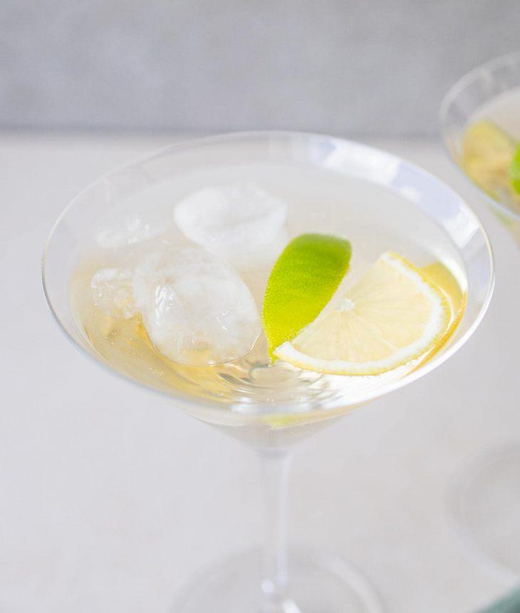Velkomstdrink med hvidvin