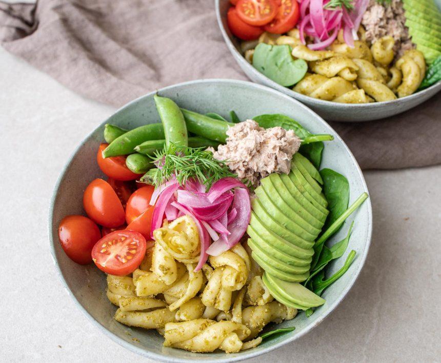 Salatbowls med tun