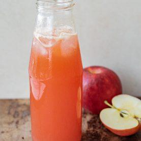 hjemmelavet æblemost