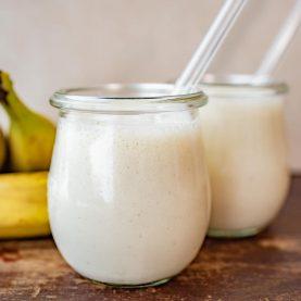 Opskrift på banan milkshake