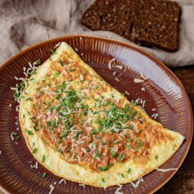 Opskrift på den bedste omelet