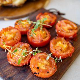 Opskrift på grillede tomater