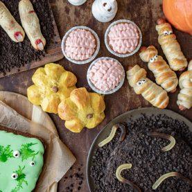halloween opskrifter og ideer